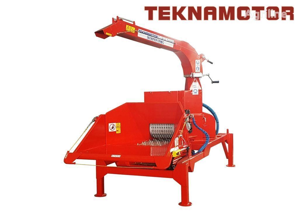 новая дробилка древесины TEKNAMOTOR Skorpion 250 EG