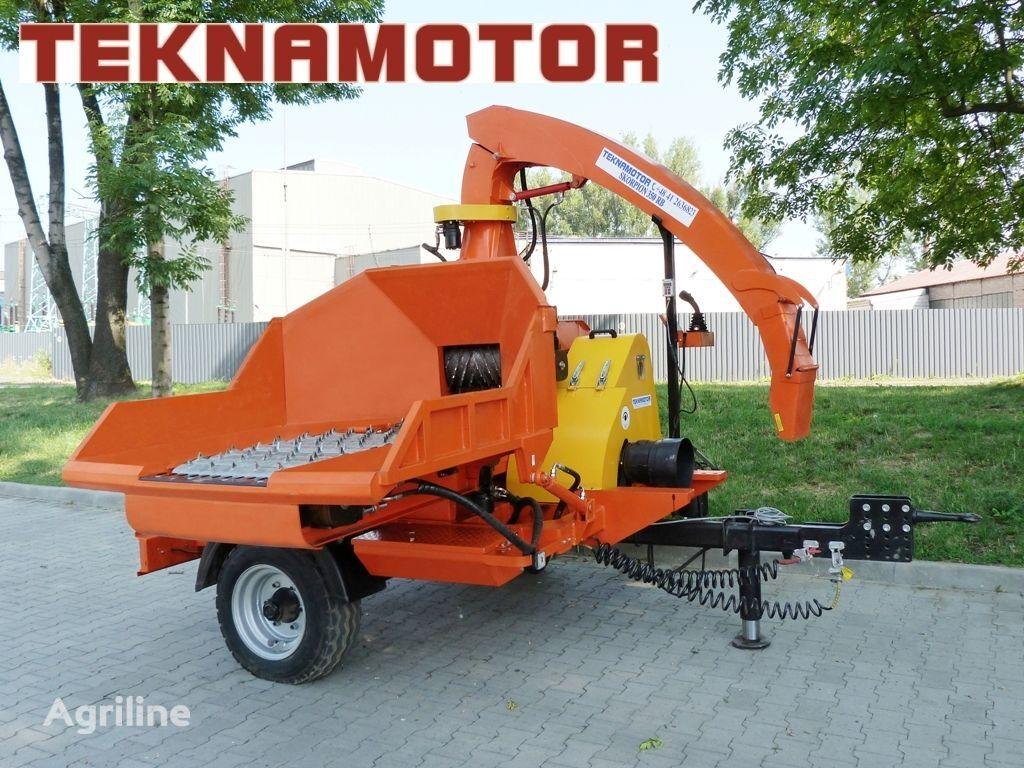 новая дробилка древесины TEKNAMOTOR Skorpion 350 RB