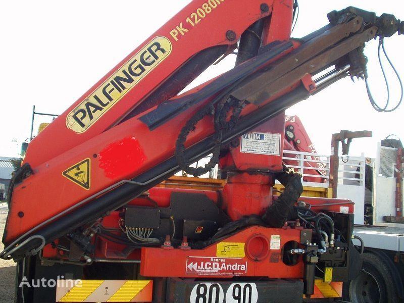 грузовик платформа RENAULT KERAX 340 PALFINGER PK - 12080