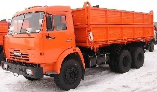 новый самосвал КАМАЗ 45143