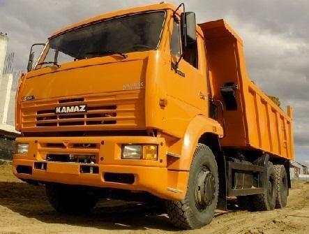 новый самосвал КАМАЗ 6520