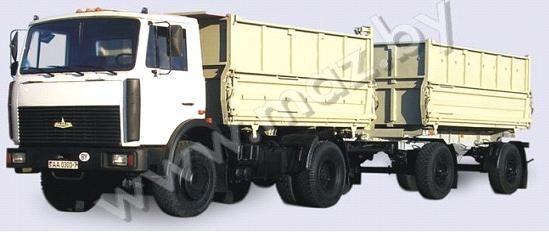 новый самосвал МАЗ 5551 (А2, 47 )