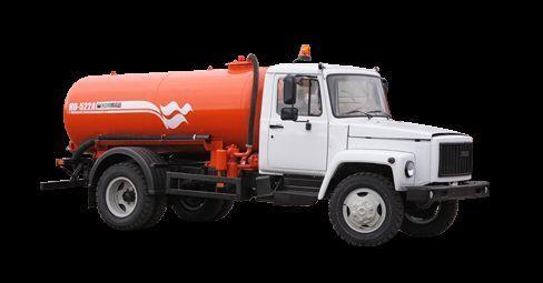 ассенизатор ГАЗ Вакуумная машина КО-522Б