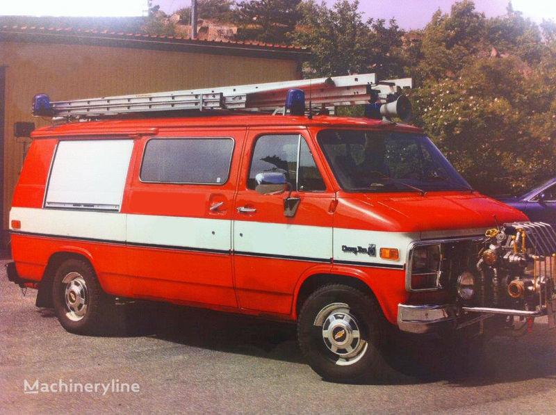 пожарная автоцистерна Chevrolet Van G-30