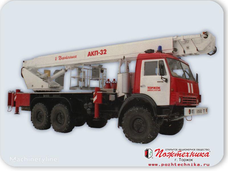 пожарная автолестница КАМАЗ АКП-32