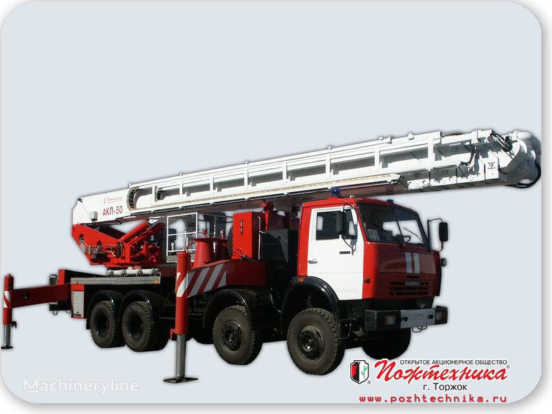 пожарная автолестница КАМАЗ АКП-50