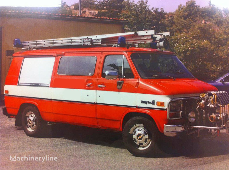 пожарная машина Chevrolet Van G-30