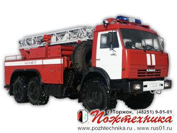 пожарная машина КАМАЗ АЦЛ-3-40/17