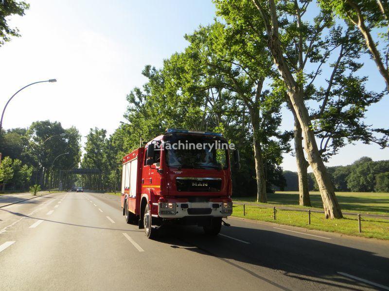 новая пожарная машина MAN 18.290