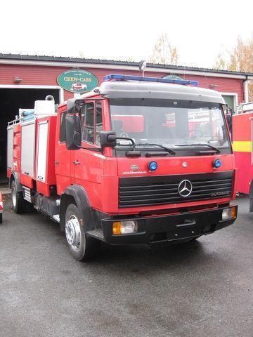 пожарная машина MERCEDES-BENZ 1320
