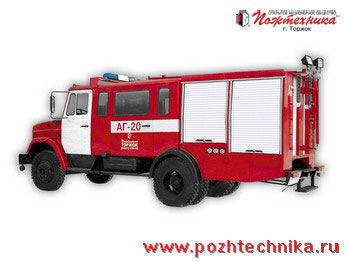 пожарная машина ЗИЛ  АГ-20 Автомобиль газодымозащитной службы