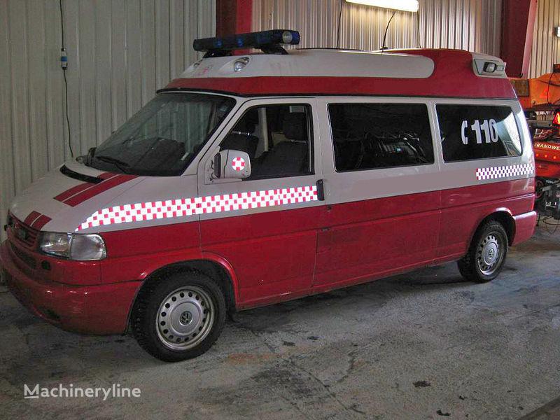 пожарная машина volkswagen T-4