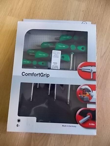 инструмент для автосервиса Zestaw kluczy TORX z rękojeścią ComfortGrip.