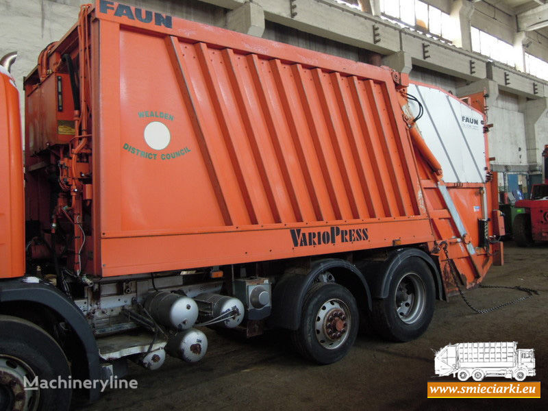 кузов мусоровоза FAUN