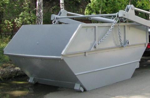 новый съемный бункер-накопитель КО-450.08.00.000
