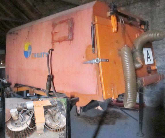 щётка 3.5 m3 zametač nástavba Trilety MKV (hydraulic