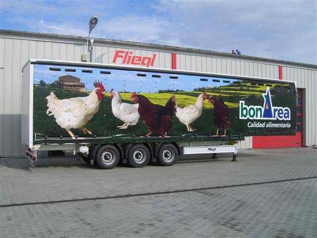 новый полуприцеп птицевоз FLIEGL SDS 350 Geflugel