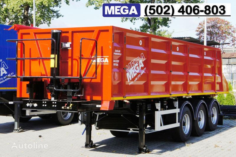 новый полуприцеп самосвал MEGA 28/8360 кcc - cамосвал 30 куб.м., paмa к тягачу 6x4, клапан!