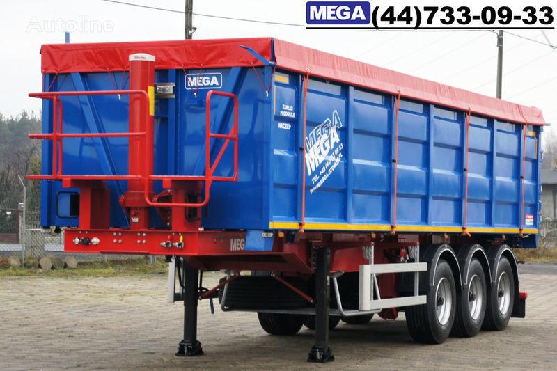 новый полуприцеп самосвал MEGA 40 куб., клапан-дверей, 40/9200 КД !! ГОТОВ !!