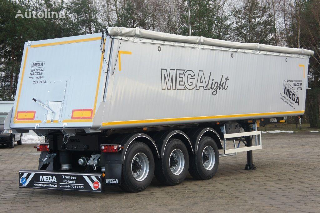 новый полуприцеп самосвал MEGA 42 - 35 m³ - aluminum tipper