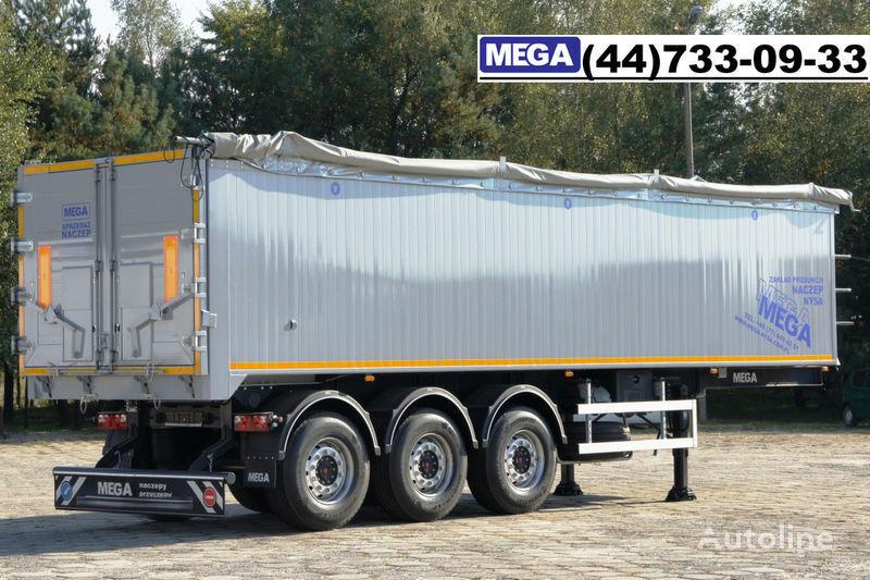 новый полуприцеп самосвал MEGA 42 m³ SAF ACHSE/ ALUMULDE / KLAPPETUREN / BEREIT