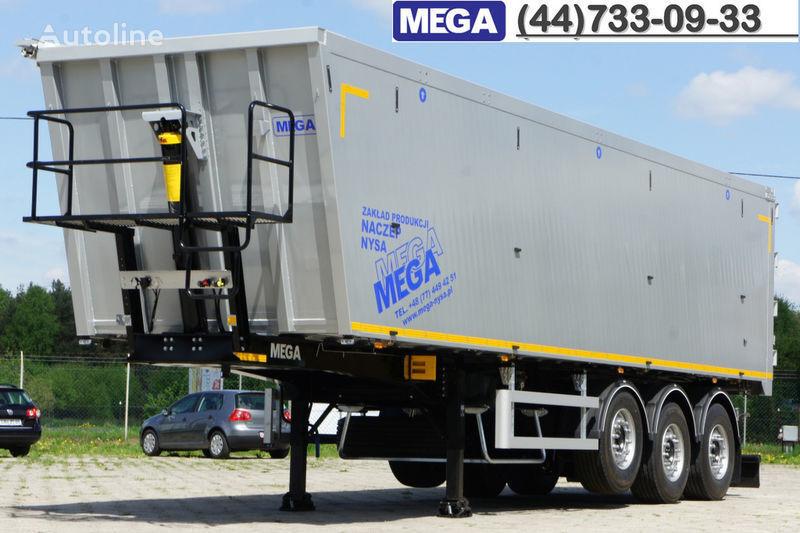 новый полуприцеп самосвал MEGA 50 M³ KIPPER AUS ALUMINIUM ! SUPER LEICHT 5.900 KG !  = BEREIT !