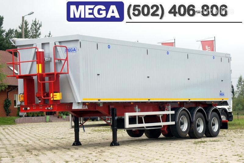 новый полуприцеп самосвал MEGA 50/11300 КД - cамосвал 50 куб., paмa к тягачу 6x4, ВЫСОТА 3,00 м