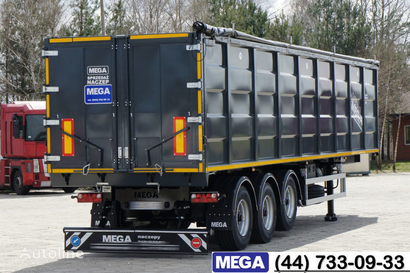 новый полуприцеп самосвал MEGA 55 M³ DOMEX/OPTIM 650 STEEL TIPPER / HATCH-DOOR & GRAINHOLES !!