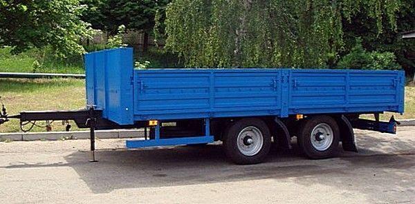 новый бортовой прицеп КАМАЗ СЗАП-830622