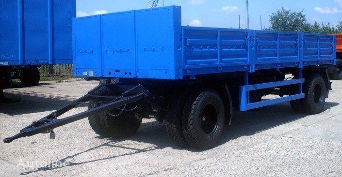 новый бортовой прицеп КАМАЗ СЗАП-8357-02