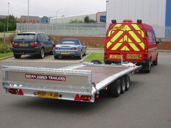 прицеп автовоз BRIAN James Trailers TT-T-303