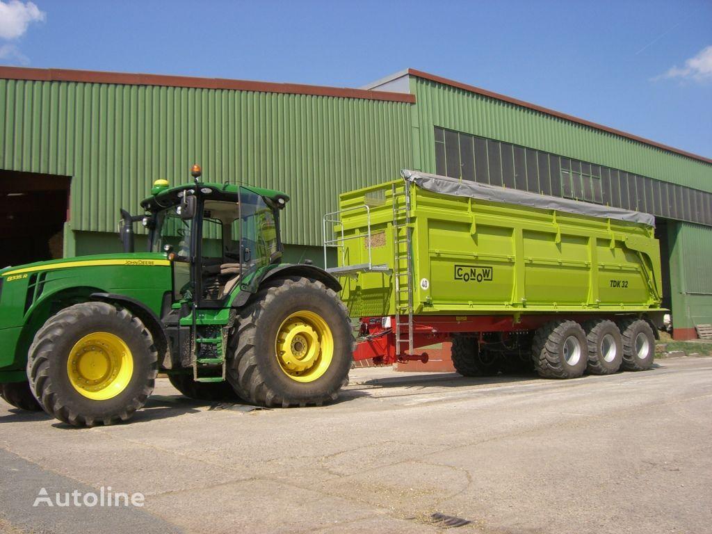 новый прицеп зерновоз CONOW TDK 32