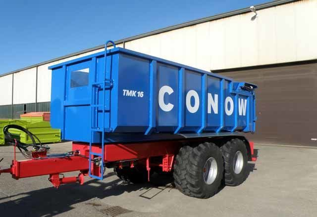 новый прицеп зерновоз CONOW Tandem-Dreiseitenkipper (TMK 16)