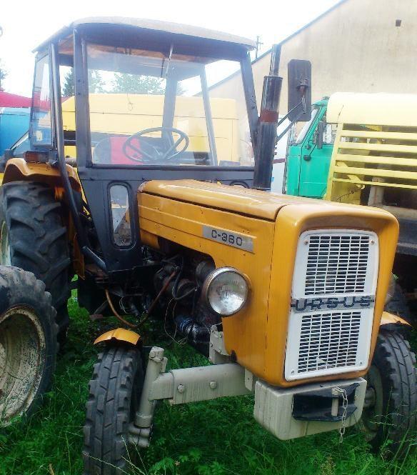 трактор колесный URSUS C-360
