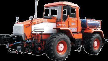 трактор колесный ММТ-2  Маневровый мотовоз на базе трактора ХТА-200