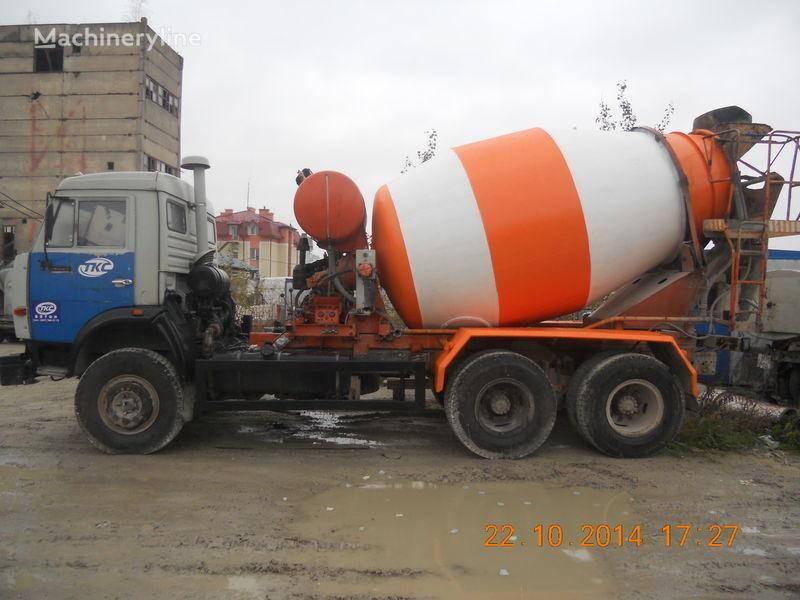 автобетоносмеситель КАМАЗ 53229А