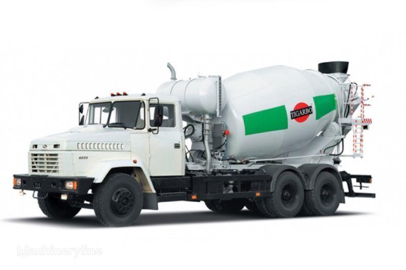 автобетоносмеситель КРАЗ 6233P4-ТИП1