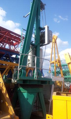 башенный кран POTAIN JASO J 5010 con base, opcion cabina