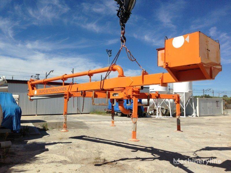 бетононасос стационарный PUTZMEISTER BP12/C-55M