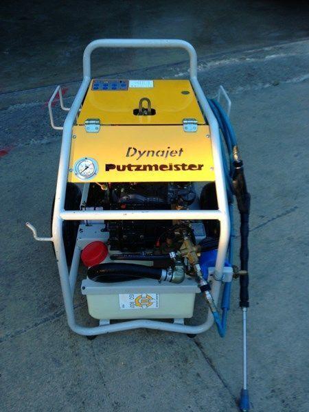 бетононасос стационарный PUTZMEISTER putzmeister dynojet (maquina auxiliar para el plegado de plumas