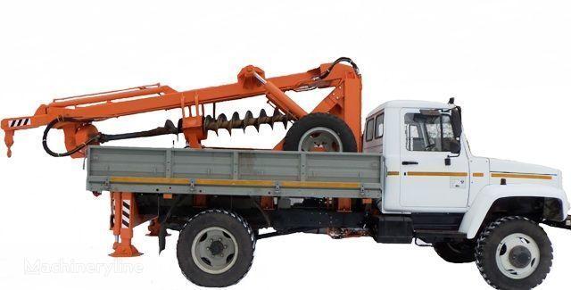 другая спецтехника БКМ ЗУ Бурильно-крановая машина БКМ-3У на автомобилях ГАЗ 33081 («Са