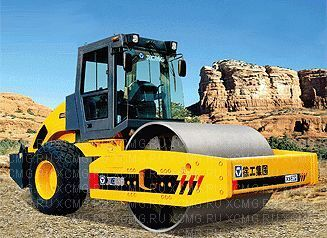 новый каток грунтовый XCMG XS262