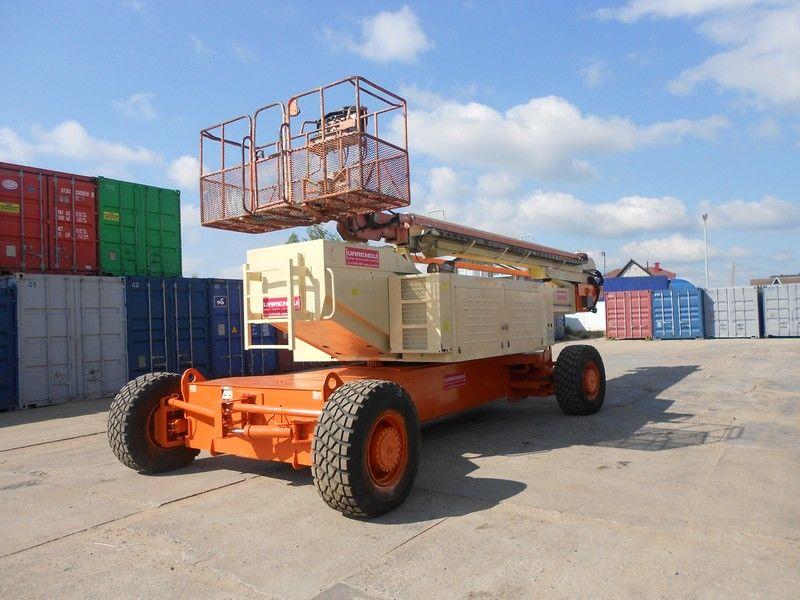 подъемник телескопический JLG 150HAX, Diesel, 4x4, 47.7m
