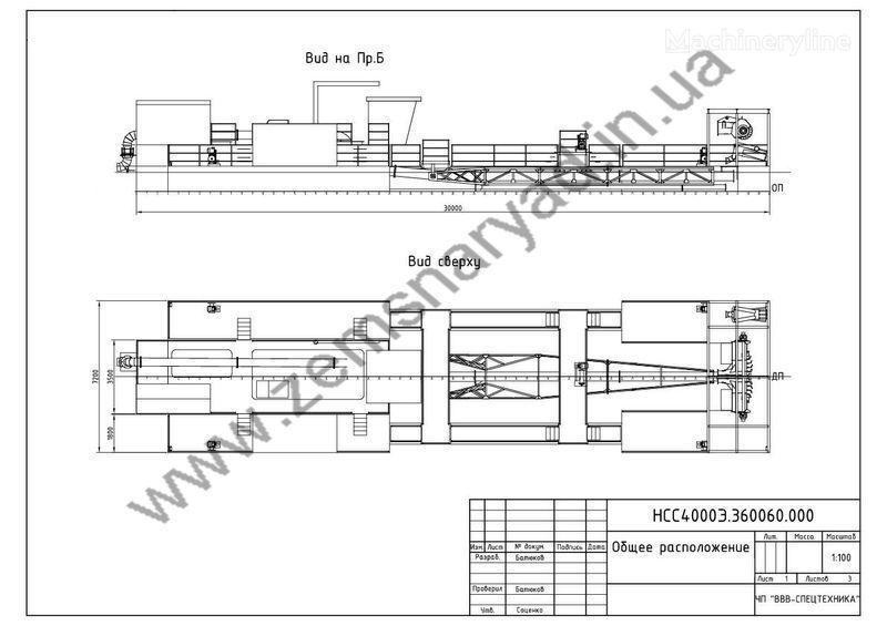 новый земснаряд НСС Земснаряд НСС 4500/70-Ф