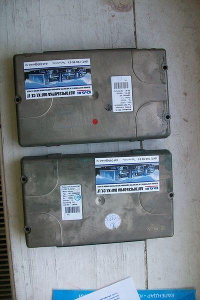 блок управления  1364166 Siemens для тягача DAF