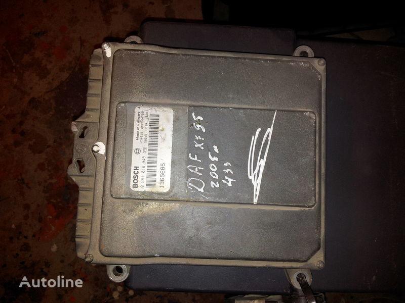 блок управления  DAF 95XF, 85LF, 75LF, EURO3 ECU EDC engine control BOSH 0281010045; 1365685, 1684367, 1679021 для тягача DAF 95XF