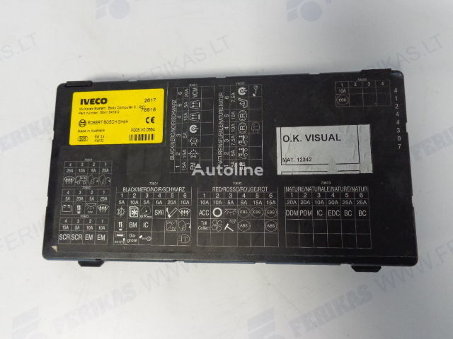 блок управления  ROBERT BOSCH GmbH multiplex body computer 504276228, 504134192 (WORLDWIDE DELIVERY) для тягача IVECO STRALIS
