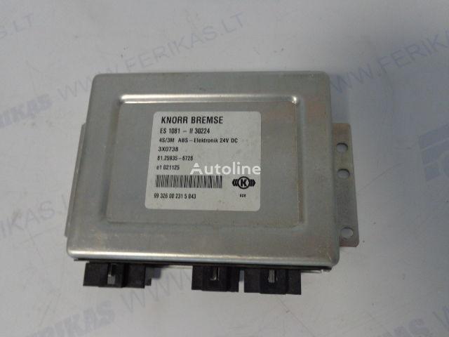блок управления  KNORR BREMSE 4S/3M ABS-Elektronik для тягача MAN