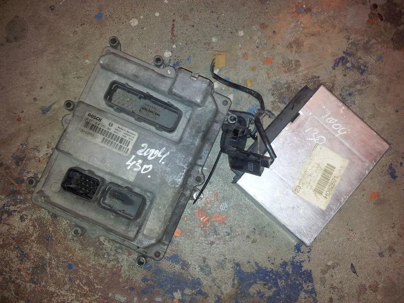 блок управления  MAN TGA EURO3, 430PS ignition set, EDC, ECU, BOSCH 0281010255 + FFR 81258057042, 51258037126, 51258337169 для тягача MAN TGA