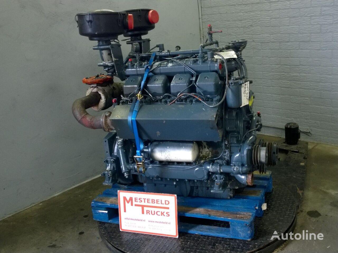 двигатель  MWM D234 V8 для тягача Motor MWM D234 V8